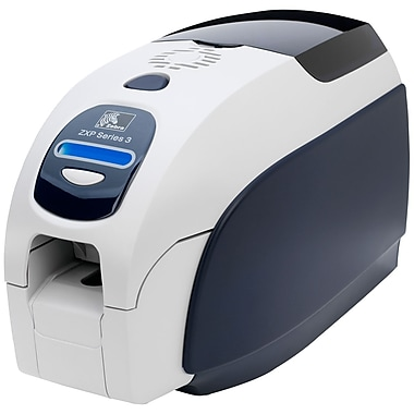 Zebra Zxp Series 3 Single Sided Dye Sublimation/Thermal Transfer Printer, Colour, Desktop, Card Print (Z31-0000B200US00)