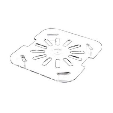 Carlisle 10315-07, One-Sixth Size TopNotch™ Polycarbonate Drain Shelf, Clear