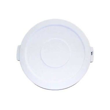 Carlisle Polyethylene Round Lid for 20 gal. Bronco Series Container, White