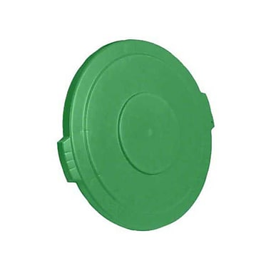 Carlisle Polyethylene Round Lid for 20 gal. Bronco Series Container, Green