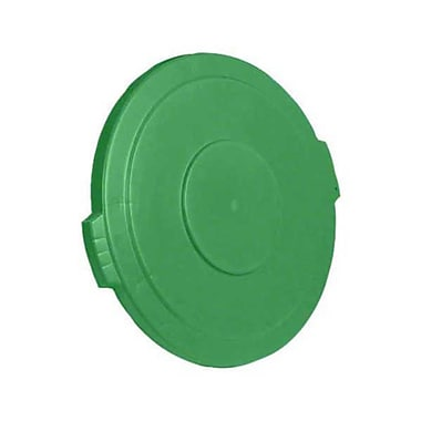 Carlisle Polyethylene Round Lid for 32 gal. Bronco Series Container, Green