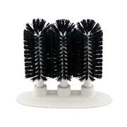 Carlisle 40461-03, 3-Brush Sparta Manual Glass Washing Brush, Black