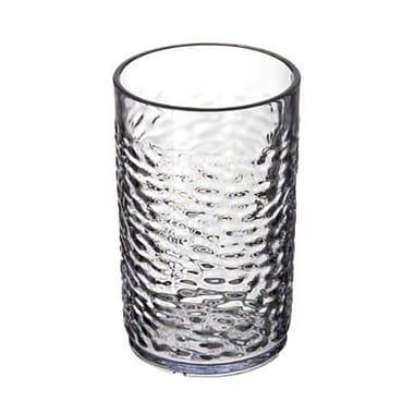 Carlisle 5509-07, 9-1/2 oz Pebble Optic Tumbler, Clear