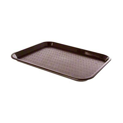 Carlisle CT101469 Polypropylene Standard Trays, Chocolate