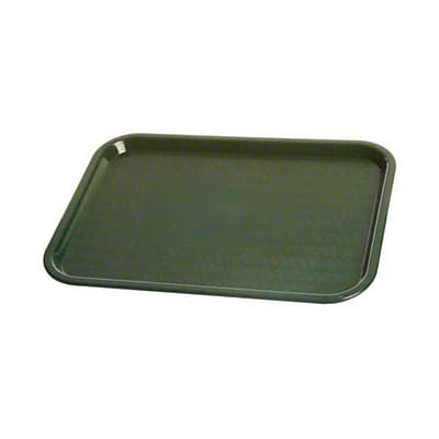 Carlisle CT121608 Polypropylene Standard Trays, Forest Green