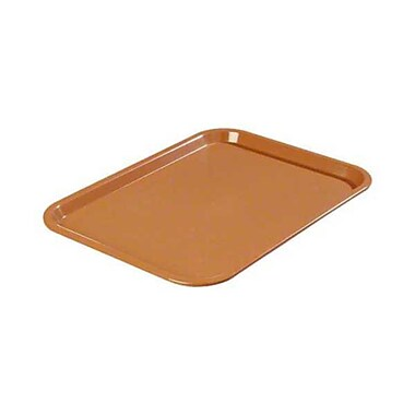Carlisle CT121631 Polypropylene Standard Trays, Light Brown