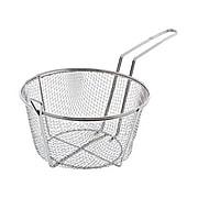 """Update International FB-9, 9 1/2"""" Round Wire Fry Basket"""