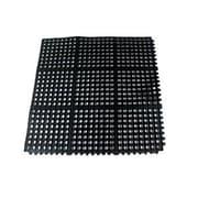 """Update International Rubber Anti-Fatigue Service Mat 36"""" x 36"""", Black"""