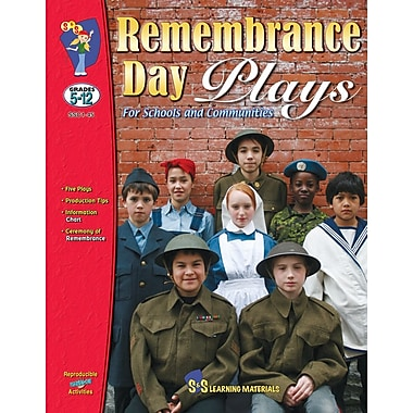 Remembrance Day Plays, Grades 5-12