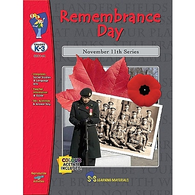 Remembrance Day, Grades 1-3