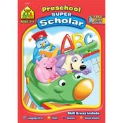 School Zone® Super Scholar Workbook, Grade Preschool/Ages 3-5