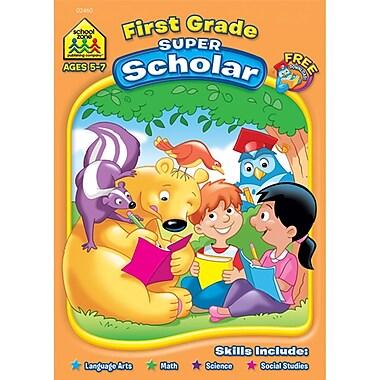 School Zone® Super Scholar Workbook, Grade 1/Ages 5-7