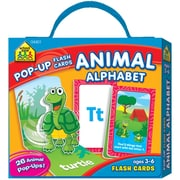 School Zone® Animal Alphabet Pop-Up Flash Cards, Ages 3-6