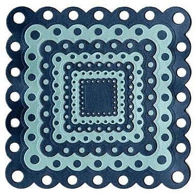 We R Memory Keepers™ Lifestyle Crafts Nesting Dies, Eyelet Squares, 7 Dies