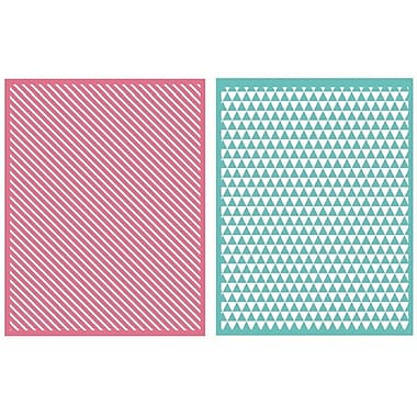 We R Memory Keepers™ Lifestyle Crafts Goosebumps A2 Embossing Folders, Linear