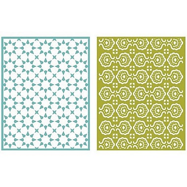 We R Memory Keepers™ Lifestyle Crafts Goosebumps A2 Embossing Folders, Tile