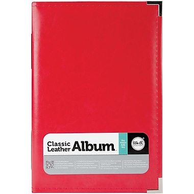 We R Memory Keepers™ Classic Leather Ring Photo Album, 6