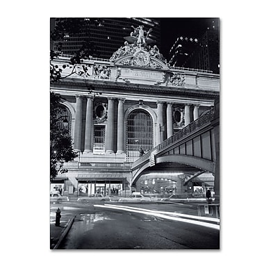 Trademark Fine Art 'Grand Central Night' 35