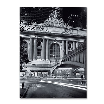 Trademark Fine Art 'Grand Central Night' 35