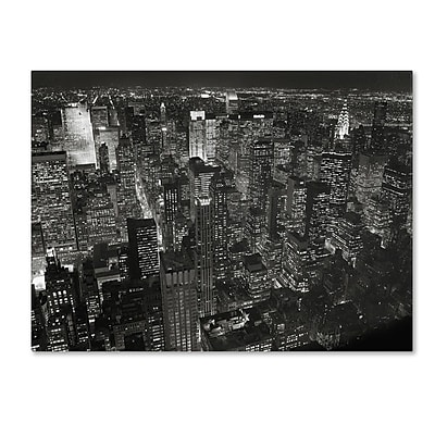 Trademark Fine Art 'Night Skyline' 18