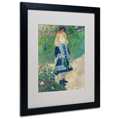 Trademark Fine Art 'A Girl With a Watering Can' 16