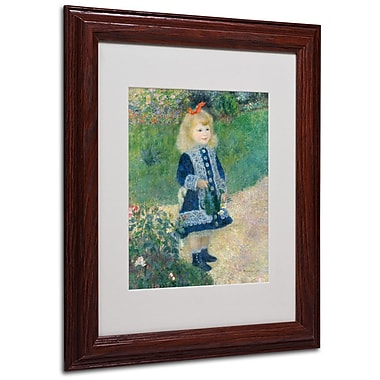 Trademark Fine Art 'A Girl With a Watering Can' 11