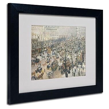 Trademark Fine Art 'Boulevard des Italiens' 11