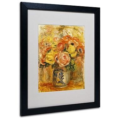 Trademark Fine Art 'Fleurs Dans Un Vase Bleu' 16