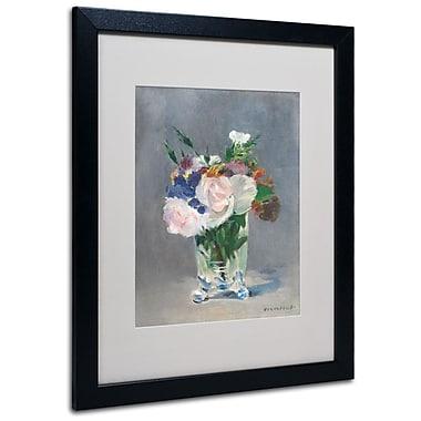 Trademark Fine Art 'Flowers In a Crystal Vase' 16