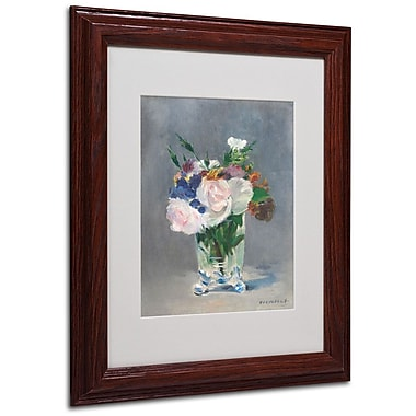Trademark Fine Art 'Flowers In a Crystal Vase' 11
