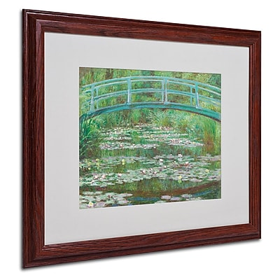 Trademark Fine Art 'The Japanese Footbridge' 16