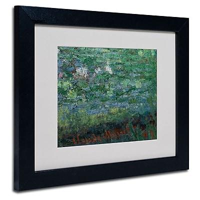 Trademark Fine Art 'The Waterlily Pond Green' 11