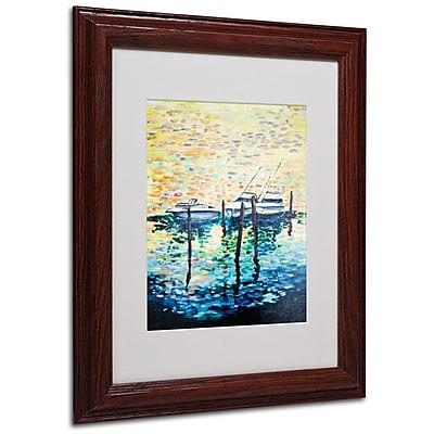 Trademark Fine Art '3 Boats' 11