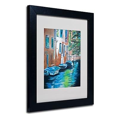 Trademark Fine Art 'Venice Boats' 11