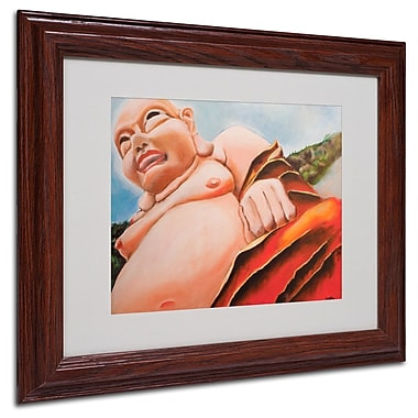 Trademark Fine Art 'Laughing Buddha' 11