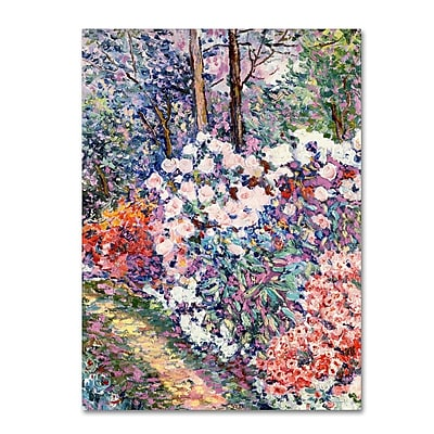 Trademark Fine Art 'Flowers In the Forest' 35