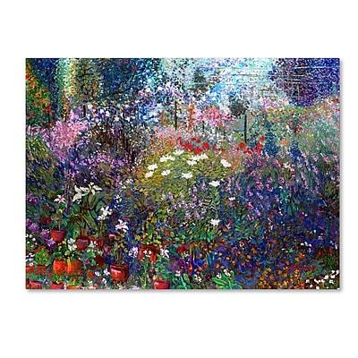 "Trademark Fine Art 'Garden In Maui II' 18"" x 24"" Canvas Art"