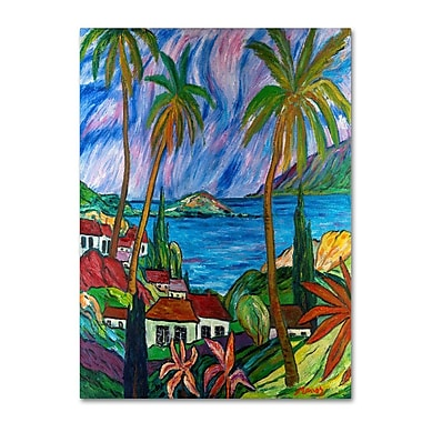 Trademark Fine Art 'Tropical Paradise'