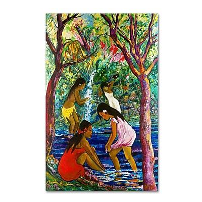 Trademark Fine Art 'Four Girls In Maui' 16