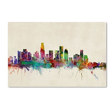 Trademark Fine Art 'Los Angeles, California' 30