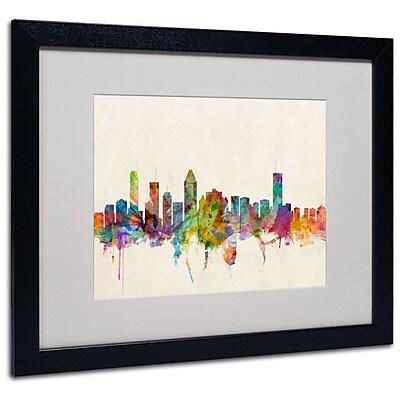 Trademark Fine Art 'Montreal, Canada' 16