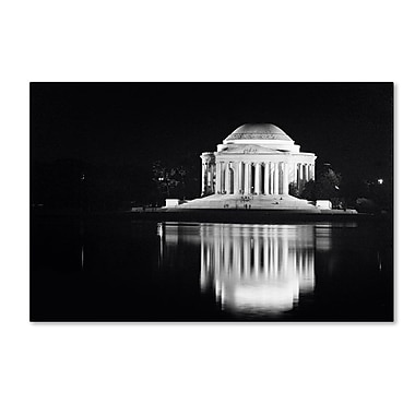 Trademark Fine Art 'Jefferson Memorial' 30