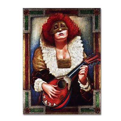 Trademark Fine Art 'Lady of Laudes' 24