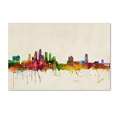 Trademark Fine Art 'Tampa, Florida' 22