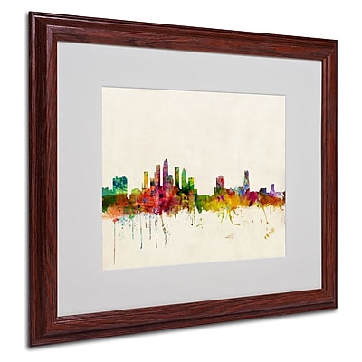 Trademark Fine Art 'Tampa, Florida' 16