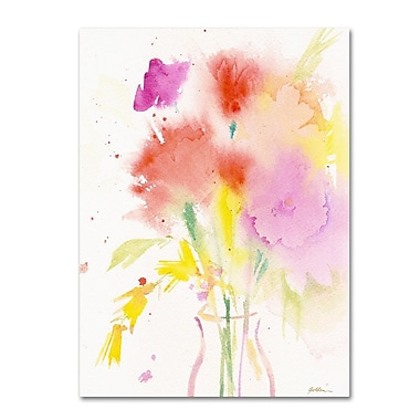 Trademark Fine Art 'Bouquet Impressions' 24