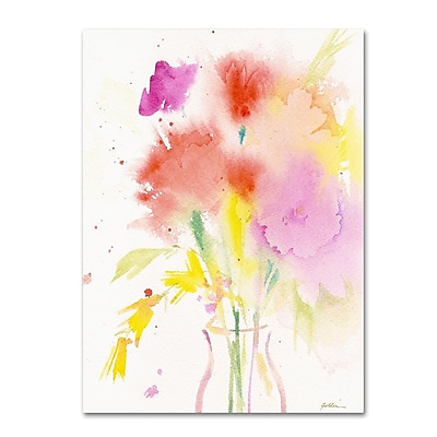 Trademark Fine Art 'Bouquet Impressions' 35