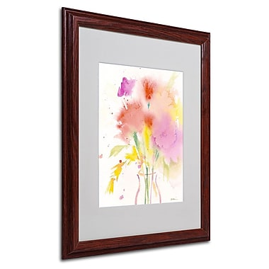 Trademark Fine Art 'Bouquet Impressions' 16