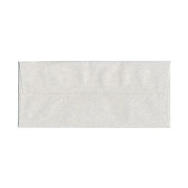 JAM Paper® #10 Business Envelopes, 4 1/8 x 9.5, Parchment Pewter Grey Recycled, 100/Pack (v01726g)
