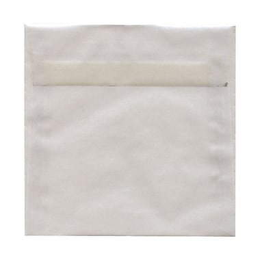 JAM Paper® Square Regular Envelopes with Gum Closures 6